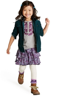 Extra 40% Children's Clothes at Tea Collection