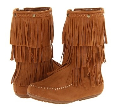 Kensie Girl Kg425 Tan Moccasin Boot 12