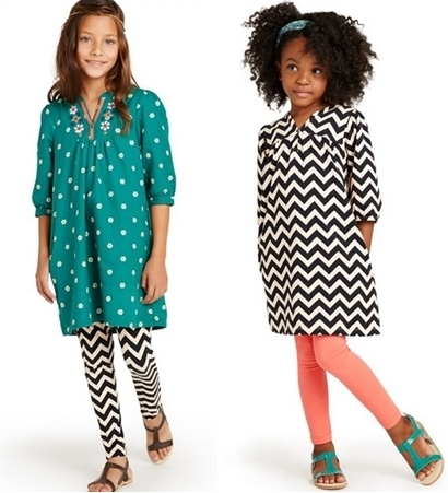 girls fashion how to wear zigzag print