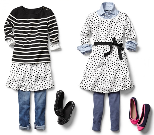 winter to spring fashion for girls tee dress