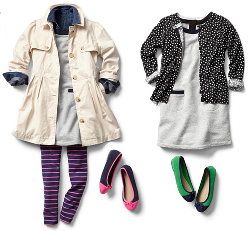winter to spring fashion for girls