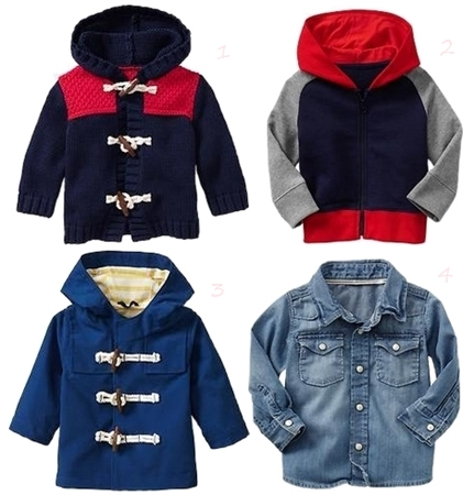 Paddington Bear BabyGap Boys Outerwear