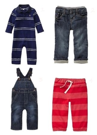 Paddington Bear BabyGap Boys Trousers