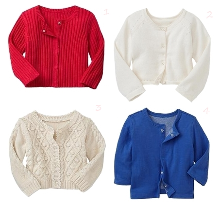 Paddington Bear BabyGap Girls Cardigans