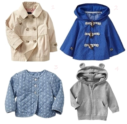 Paddington Bear BabyGap Girls Coat