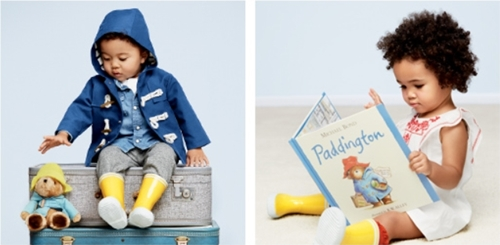 Paddington Bear BabyGap collection