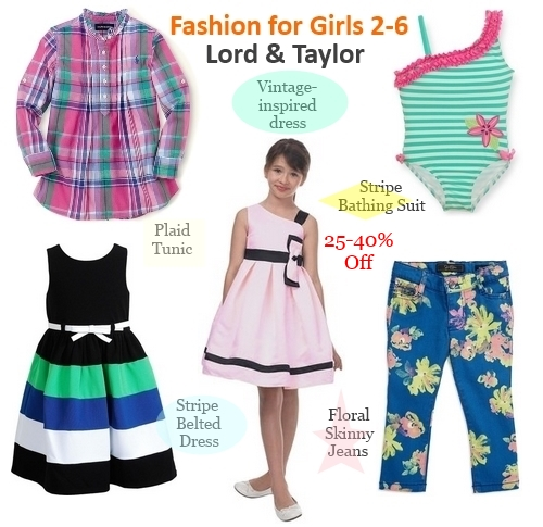 fashion for girls 2-6