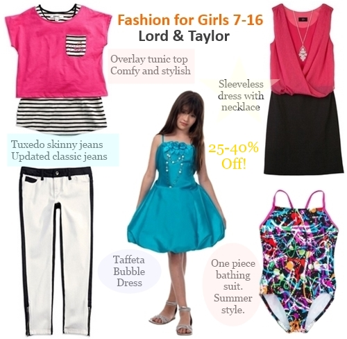fashion for girls 7-16