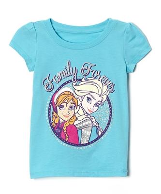 Aqua 'Family Forever' Tee - Toddler & Girls