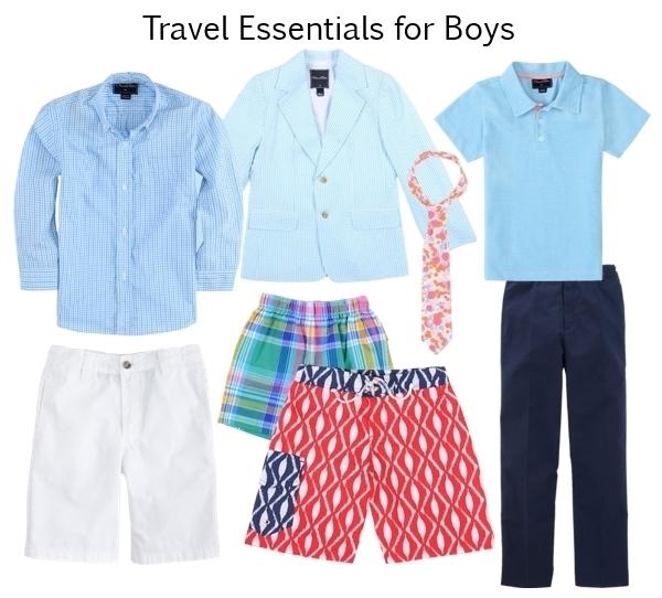 travel essentials for kids boys