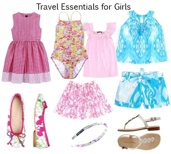 travel essentials for kids girls