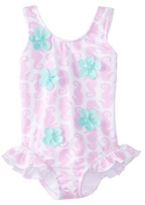 10 Super Cute Ruffled Baby Swimsuits