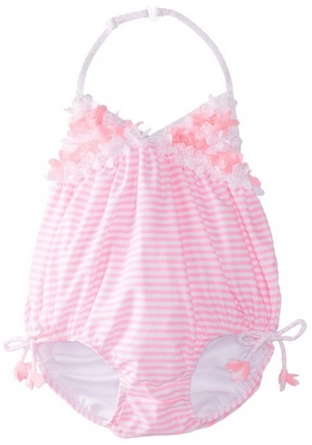 Kate Mack Baby-Girls Candy Carnival Infant Swim Bubble One Piece Swimsuit