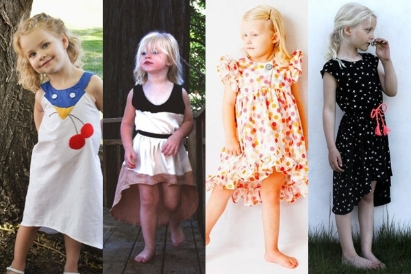 hi-low dresses for girls