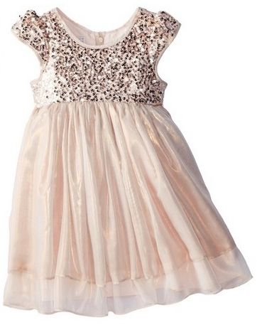 Pippa & Julie Little Girls Sequin Bodice Fairy Float Dress