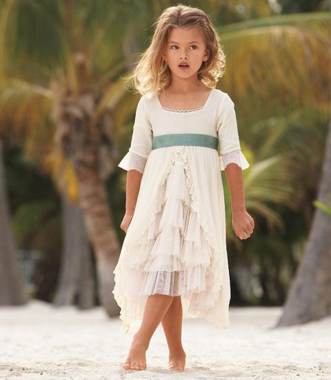 chiffon dresses for little girls