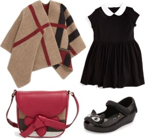How to Wear the Coveted Burberry Mega Check Wool/Cashmere Cape for Girls