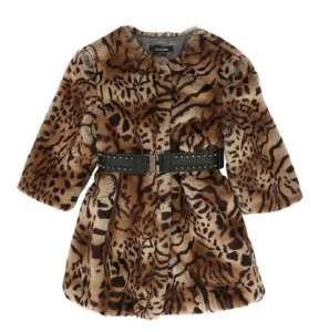 3 High-Fashion Animal Print Dress Coats for Big Girls