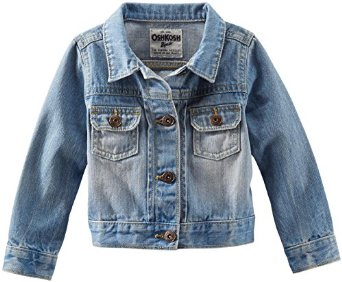 OshKosh B'gosh Little Girls' Denim Jacket - Denim