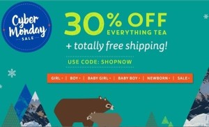 Tea Collection's Cyber Monday Sale
