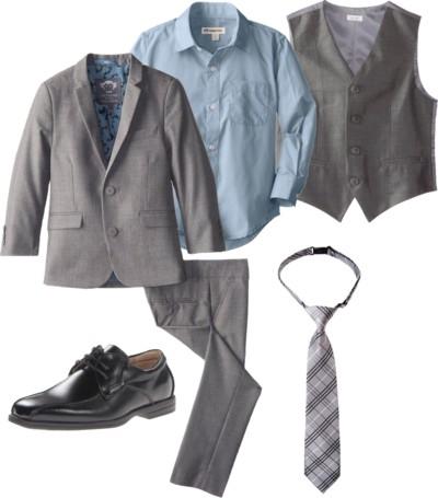 Two-Piece Classic Mod Suit with Vest