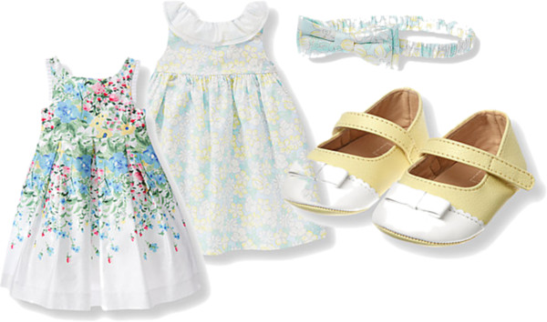 Floral Dresses for Baby Girls