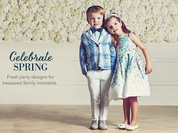 Janie and Jack by Gymboree! Pastel, Spring Trend for Girls and Boys