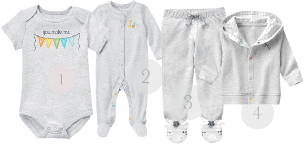 Unisex Gifts for Newborn Babies