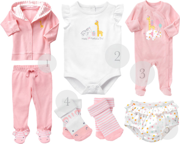 newborn gft ideas for baby girls