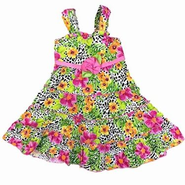 Cheetah-Leopard-Dress-Animal-Print-Flower-Sundress