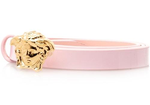 Mini Gold Medusa Head Buckle Belt for Girls