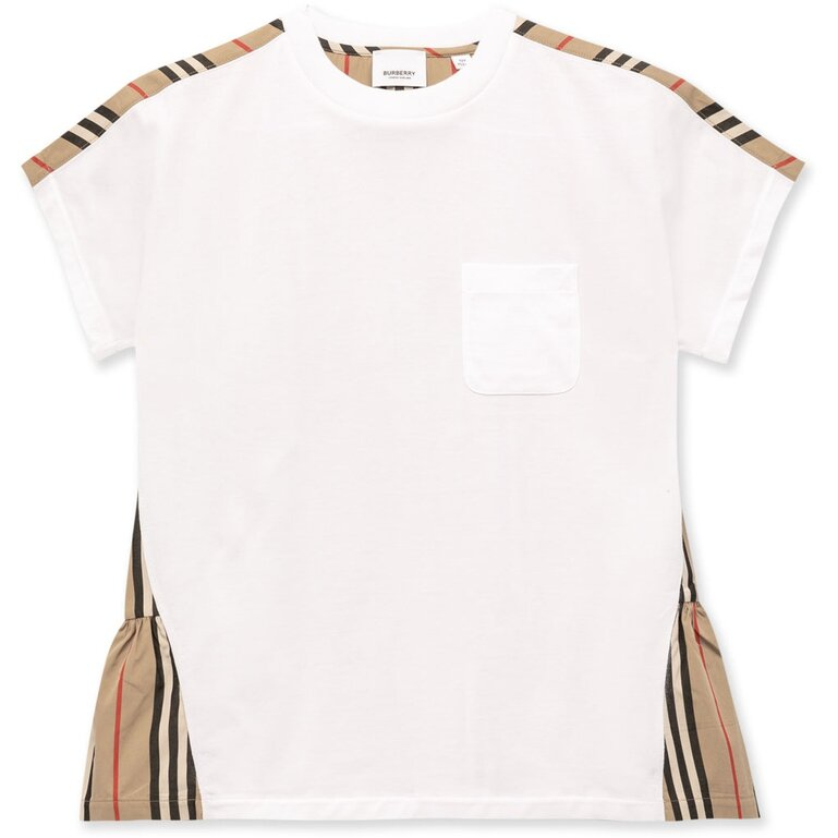Burberry Baby Icon Stripe Panel Tee