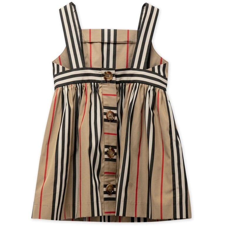 Burberry Stripe Poplin Dress