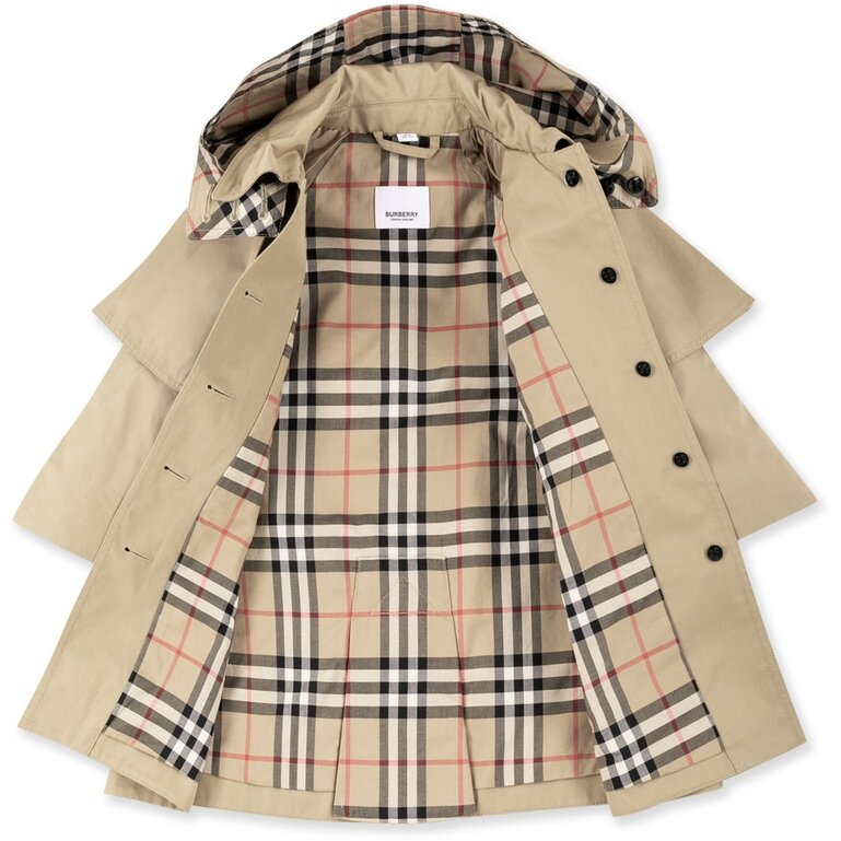 Burberry Trench Coat for Baby Girls