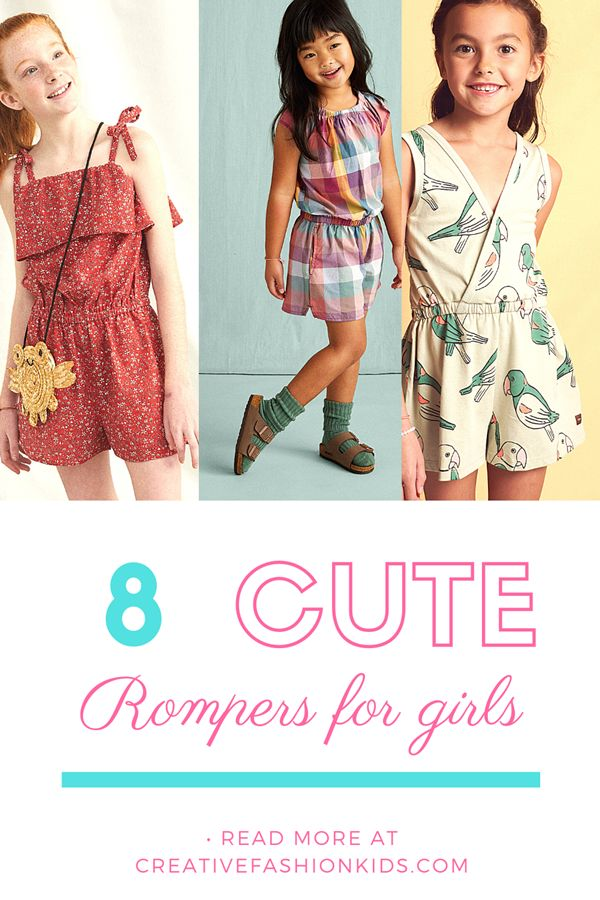 cute rompers for girls