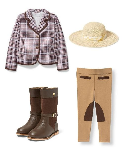 The Equestrian Look for Girls