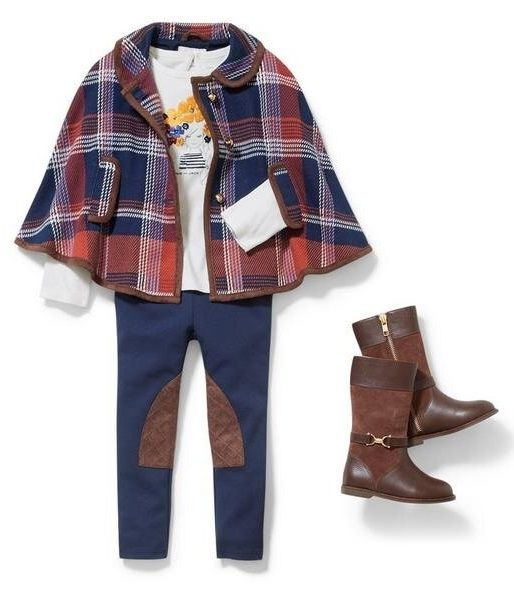 The Explorer fall outfit for girls