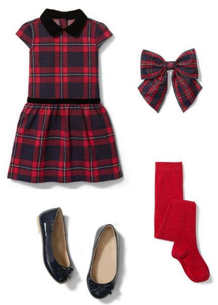 Plaid-Jacquard-Dress
